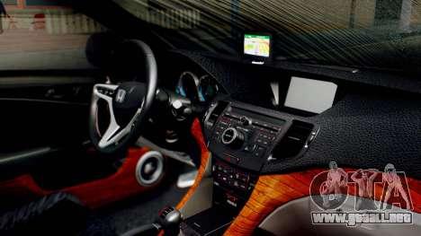 Honda Accord Yukari Itasha para la visión correcta GTA San Andreas