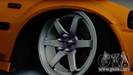Honda Civic BC YAPIM para GTA San Andreas vista posterior izquierda