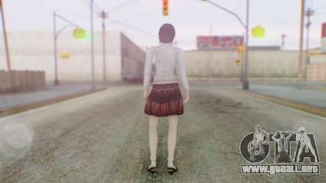 Fatal Frame 4 Madoka para GTA San Andreas tercera pantalla