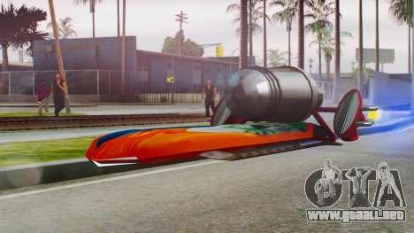 Flying Hovercraft New Skin para GTA San Andreas