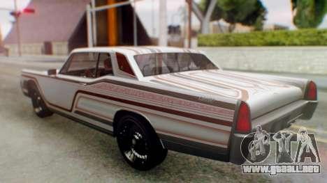 GTA 5 Vapid Chino Tunable para las ruedas de GTA San Andreas