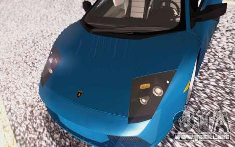 Lamborghini Murcielago 2005 para vista inferior GTA San Andreas