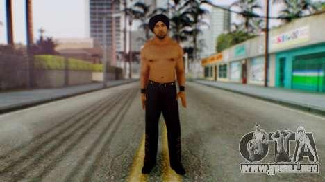 Jinder Mahal 1 para GTA San Andreas segunda pantalla