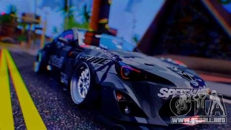 Aero Project Art 0.248 para GTA San Andreas quinta pantalla