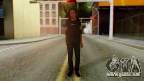 Stephani WWE para GTA San Andreas segunda pantalla