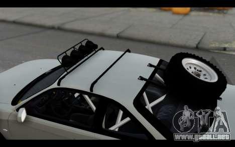 Nissan Silvia S14 Rusty Rebel para visión interna GTA San Andreas