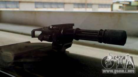 GTA 5 Benefactor Stretch E Turreted para GTA San Andreas vista posterior izquierda