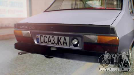 Dacia 1310 v2 para GTA San Andreas vista hacia atrás
