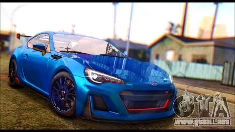 Subaru BRZ STi Concept 2016 para GTA San Andreas