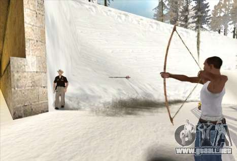 Tiro con arco para GTA San Andreas