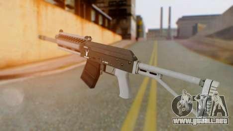 GTA 5 Heavy Shotgun - Misterix 4 Weapons para GTA San Andreas segunda pantalla