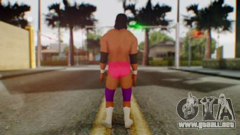 WWE Damien Sandow 2 para GTA San Andreas tercera pantalla