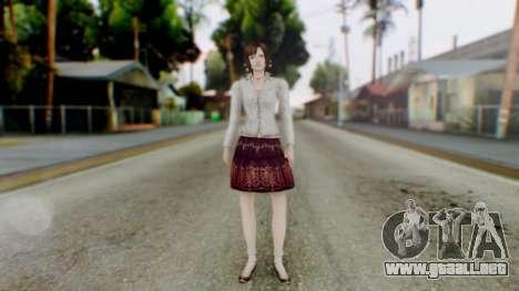 Fatal Frame 4 Madoka para GTA San Andreas segunda pantalla