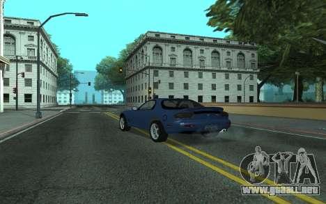 Mazda RX-7 Tunable para GTA San Andreas left