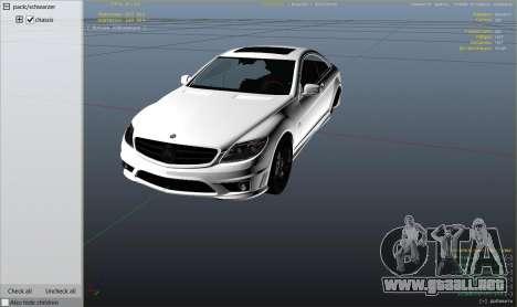 2010 CL65 Mercedes-Benz AMG para GTA 5
