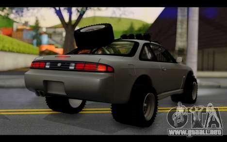 Nissan Silvia S14 Rusty Rebel para GTA San Andreas left