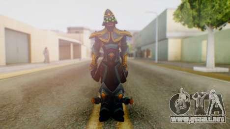 Masteryi League of Legends Skin para GTA San Andreas segunda pantalla
