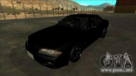 Nissan Skyline R32 Drift para el motor de GTA San Andreas