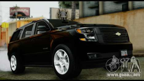 Chevrolet Tahoe 2015 para la visión correcta GTA San Andreas