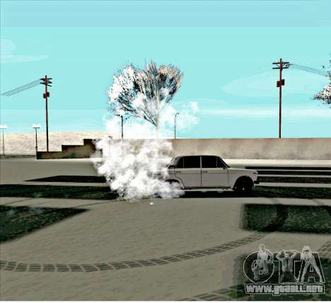VAZ 2106 [ARM] para vista lateral GTA San Andreas