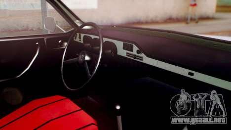 Dacia 1310 v2 para la visión correcta GTA San Andreas