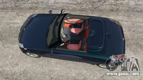 GTA 5 Daewoo Joyster Concept 1997 v1.4 vista trasera
