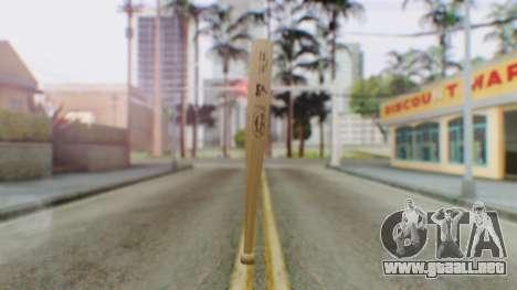 Vice City Baseball Bat para GTA San Andreas segunda pantalla