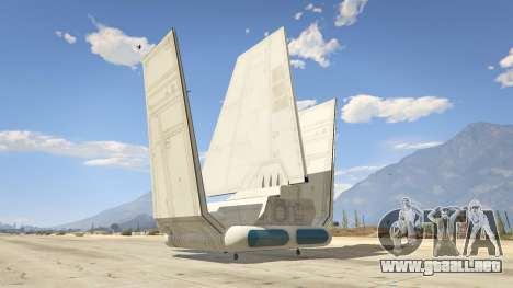 GTA 5 Star Wars: Imperial Shuttle Tydirium tercera captura de pantalla