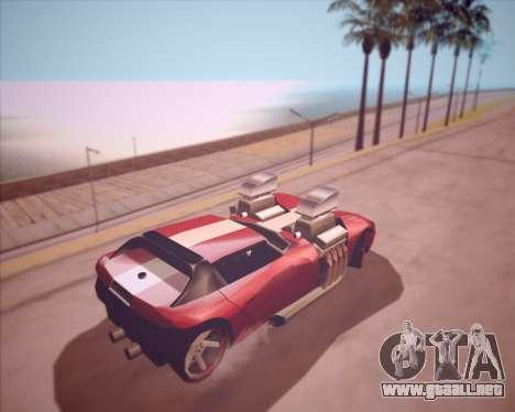Banshee Twin Mill III Hot Wheels v1.0 para la visión correcta GTA San Andreas