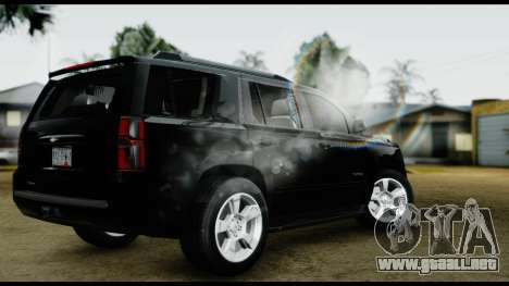 Chevrolet Tahoe 2015 para GTA San Andreas left