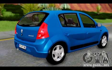 Renault Sandero para GTA San Andreas left