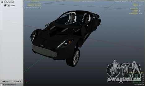 Rueda de GTA 5 2012 Aston Martin One-77 v1.0