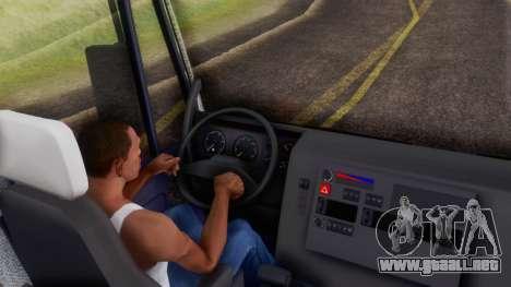 Iveco EuroTech v2.0 Cab Low para GTA San Andreas vista hacia atrás