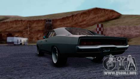 Dodge Charger RT 1970 FnF7 para GTA San Andreas left