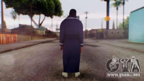 WWE Damien Sandow 1 para GTA San Andreas tercera pantalla