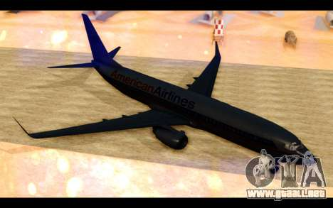 Boeing 737-800 American Airlines para GTA San Andreas left