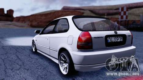Honda Civic 1.6 Hatchback para GTA San Andreas left