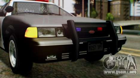 GTA 5 Police LV para vista lateral GTA San Andreas