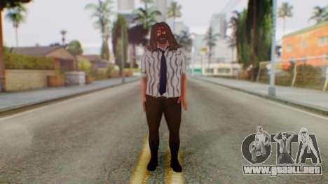 WWE Mankind para GTA San Andreas segunda pantalla