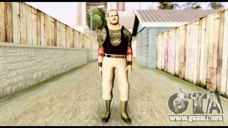 WWE Sgt Slaughter 2 para GTA San Andreas segunda pantalla