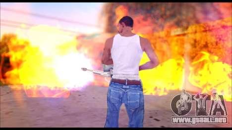 The Best Effects of 2015 para GTA San Andreas sucesivamente de pantalla