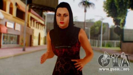 WWE Aksana para GTA San Andreas