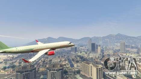 GTA 5 Embraer 195 Wind sexta captura de pantalla