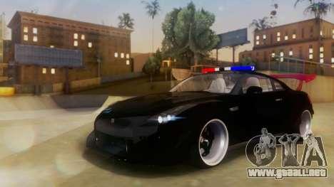 Nissan GT-R Police Rocket Bunny para GTA San Andreas