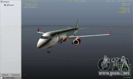 GTA 5 Embraer 195 Wind noveno captura de pantalla
