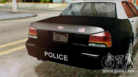 GTA 5 Police LV para la visión correcta GTA San Andreas
