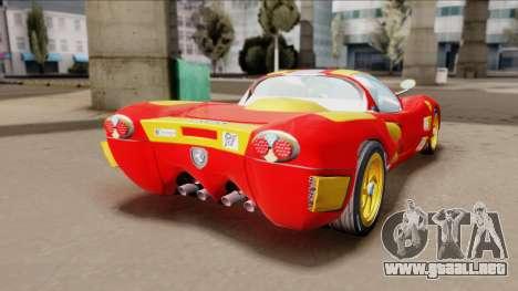 Ferrari P7-2 Iron Man para GTA San Andreas left