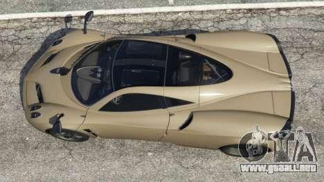 Pagani Huayra 2013 v1.1 [black rims] para GTA 5