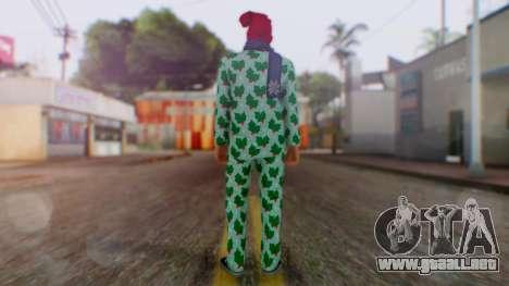 GTA Online Festive Surprise Skin 4 para GTA San Andreas tercera pantalla