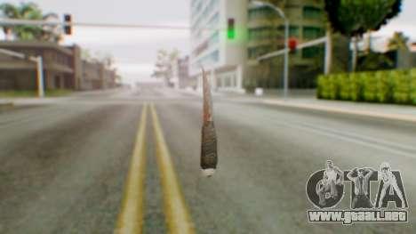 Shank para GTA San Andreas segunda pantalla